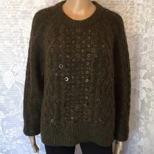 Rag & Bone Extra Fine Merino Wool Soft Sweater L
